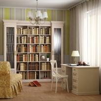 Мебель для кабинетов. изготовление библиотек на заказ по инд.