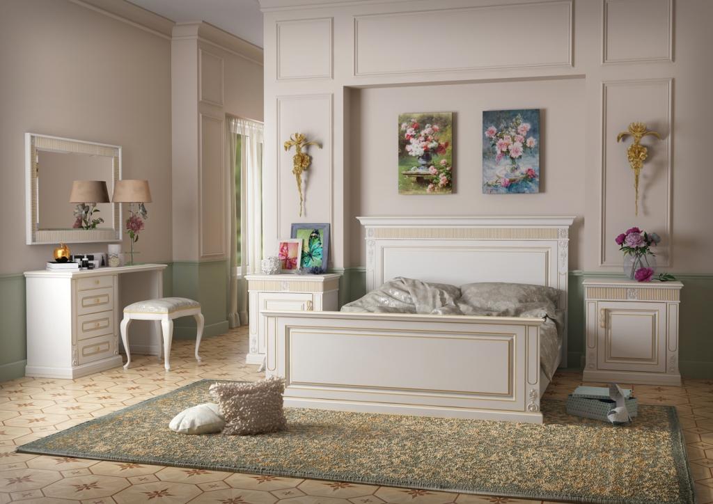 спальня классика Ks 7 в классическом стиле фабрика росста